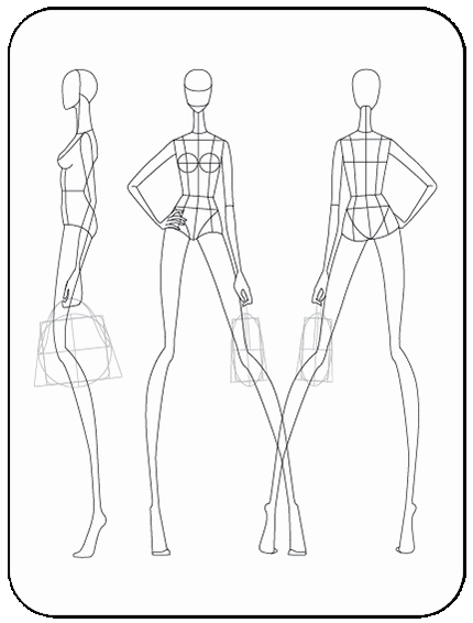 Mannequin Template for Fashion Design Fresh Download Fashion Figure Templates – Prêt à Template