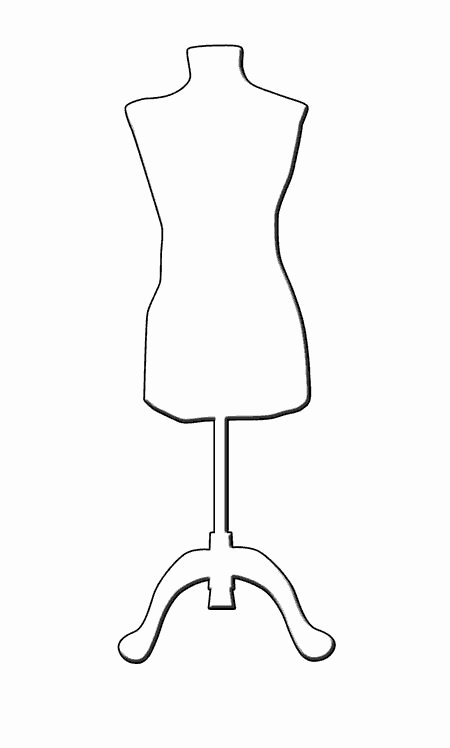 Mannequin Template for Fashion Design Inspirational Mannequin Silhouette Google Search