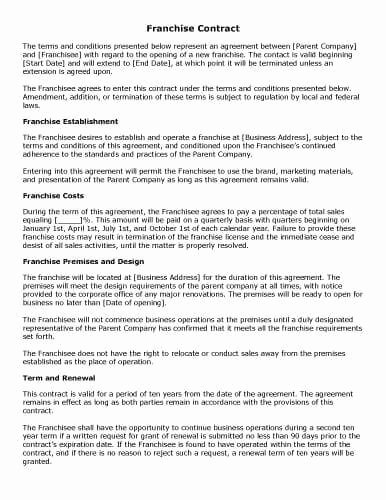 Manufacturers Representative Agreements Unique 32 Sample Contract Templates In Microsoft Word