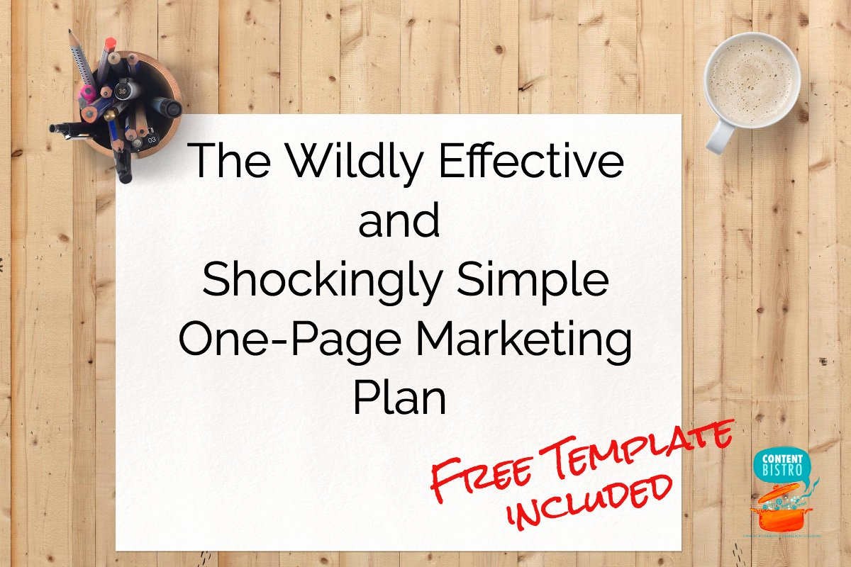 Marketing One Pager Template Best Of the E Page Marketing Plan We Use for A Profitable and