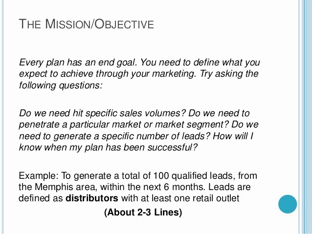 Marketing One Pager Template Lovely A Quick One Page Marketing Plan Template