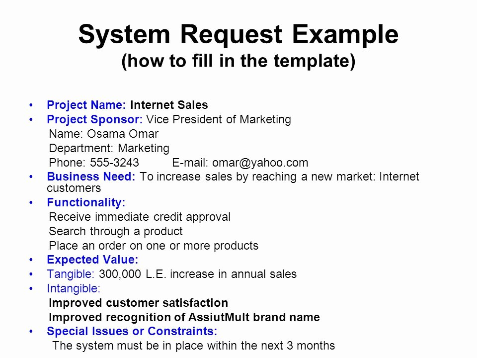 Marketing Project Request form Template Elegant Lecture 2 Project Initiation Phase 1 Planning Ppt