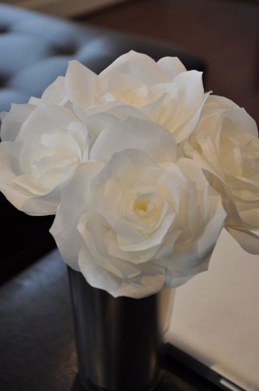Martha Stewart Coffee Filter Roses Awesome Show Me Your Paper Coffee Filter Fabric Flowers