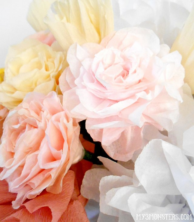 Martha Stewart Coffee Filter Roses Fresh My 3 Monsters How to Make Life Like Paper Flowers