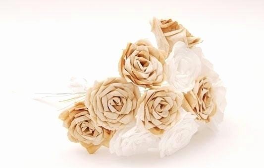 Martha Stewart Coffee Filter Roses Inspirational Paper Flower Free Template and Video Tutorial Coffee