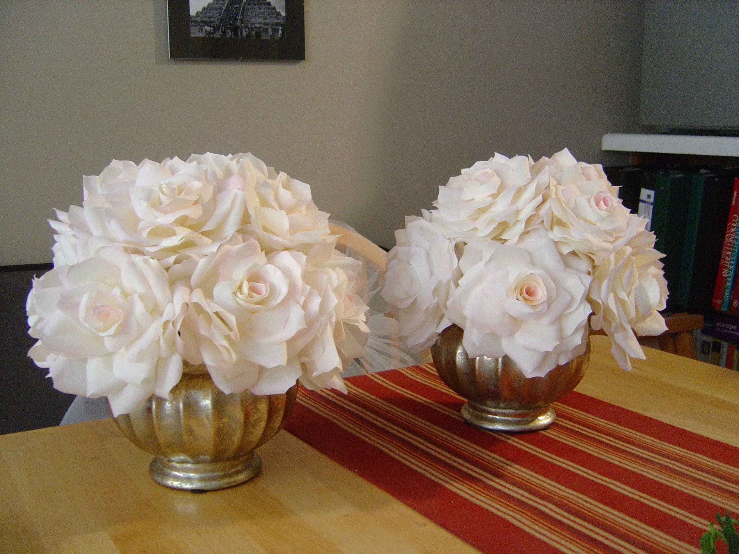 Martha Stewart Coffee Filter Roses Lovely Flowers soon2bmd