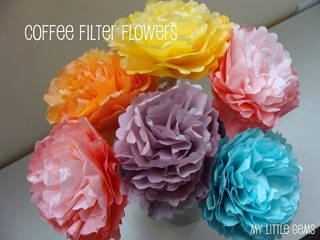 Martha Stewart Coffee Filter Roses Unique Coffee Filter Flowers Crafts