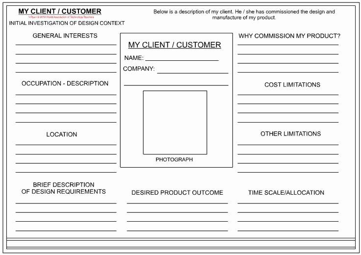 Mary Kay Customer Profile Template Fresh Client Customer Profile Sheet Textile Design