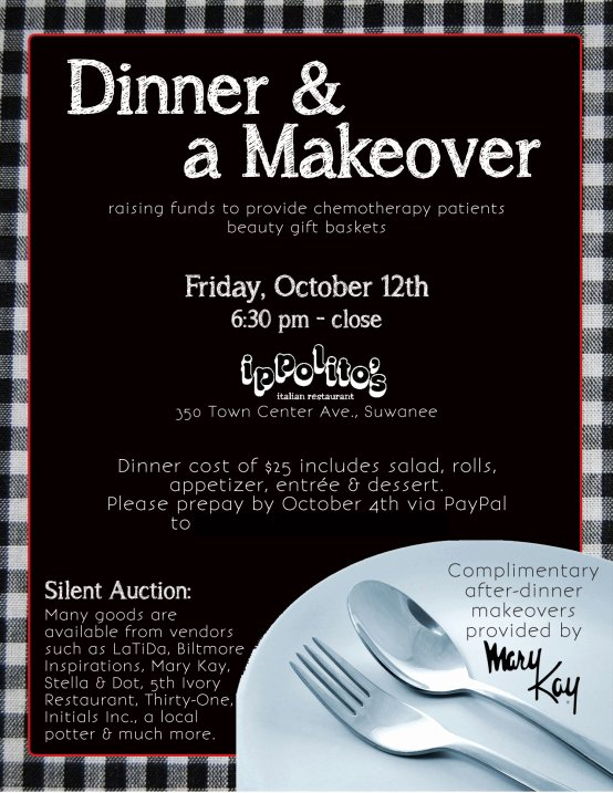 Mary Kay Customer Profile Template Inspirational Flyer Dinner & A Makeover
