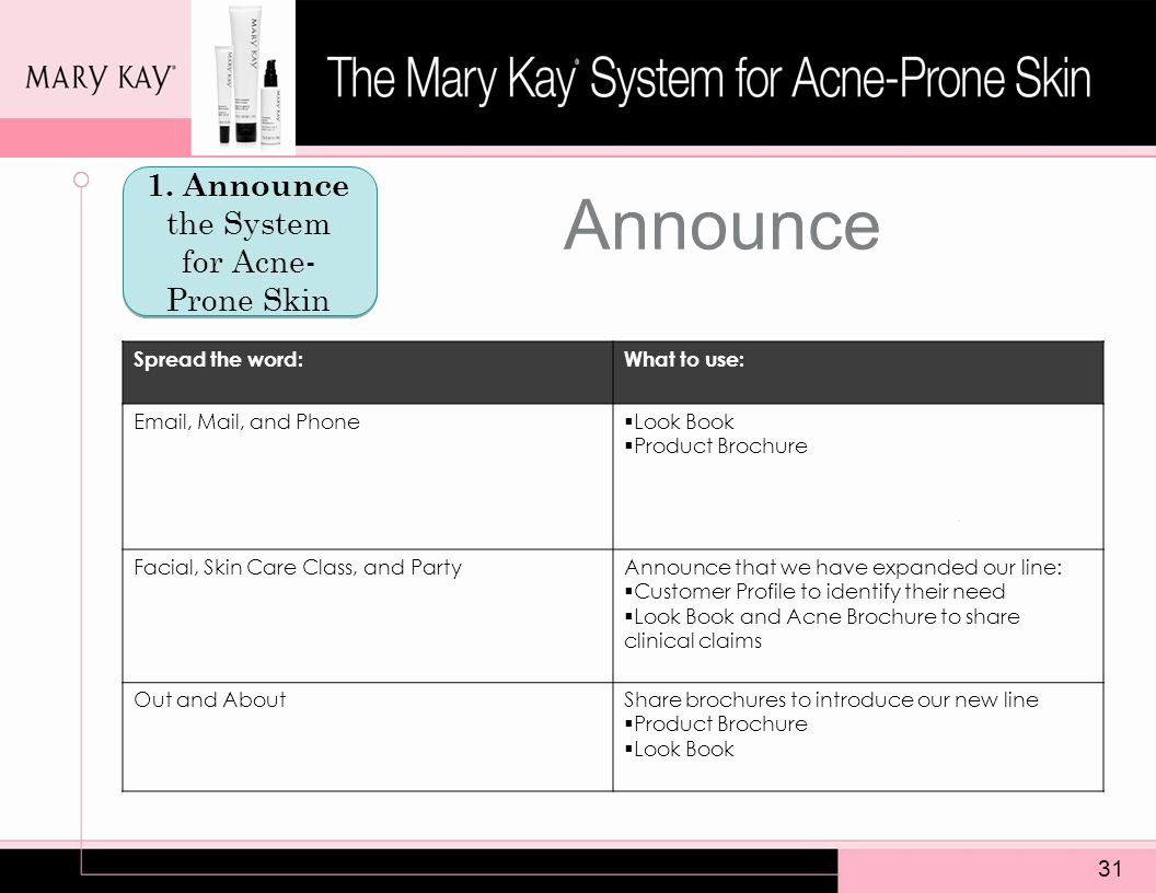 Mary Kay Customer Profile Template Lovely the Mary Kay System for Acne Prone Skin Please Note This