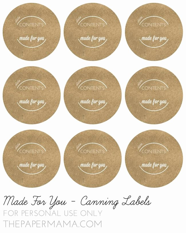 Mason Jar Tags Template Awesome 34 Best Canning Labels and Canning Label Templates Images
