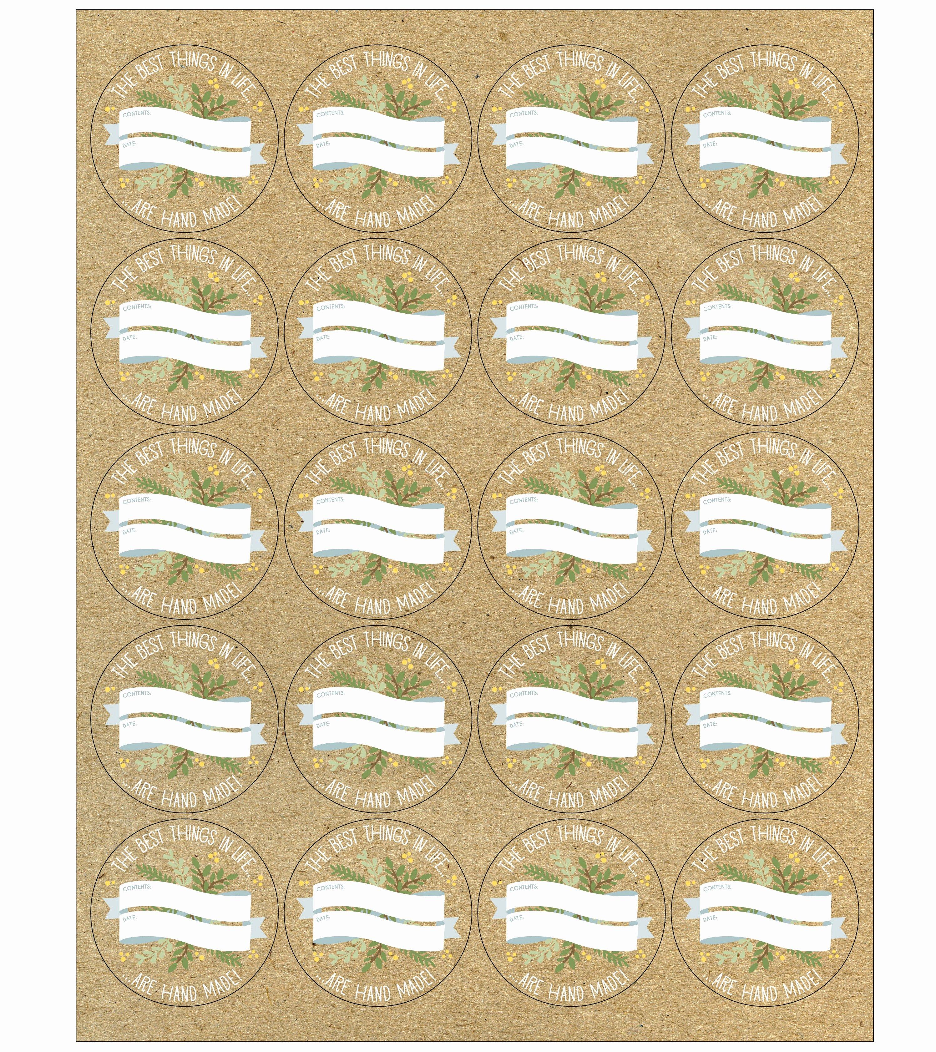 Mason Jar Tags Template Awesome the Worldlabel Mason Jar Label Design Contest