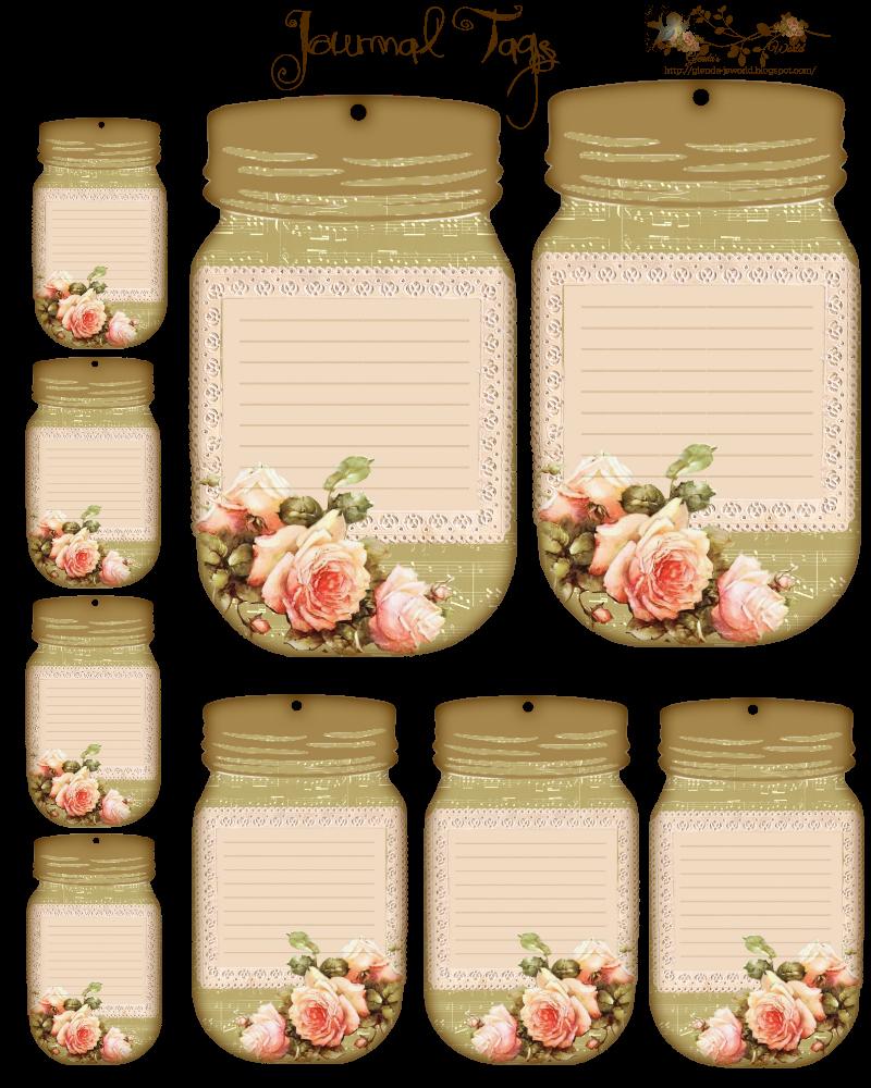 Mason Jar Tags Template Beautiful Free Journal Tags Would Make Good Name Tags or Detail