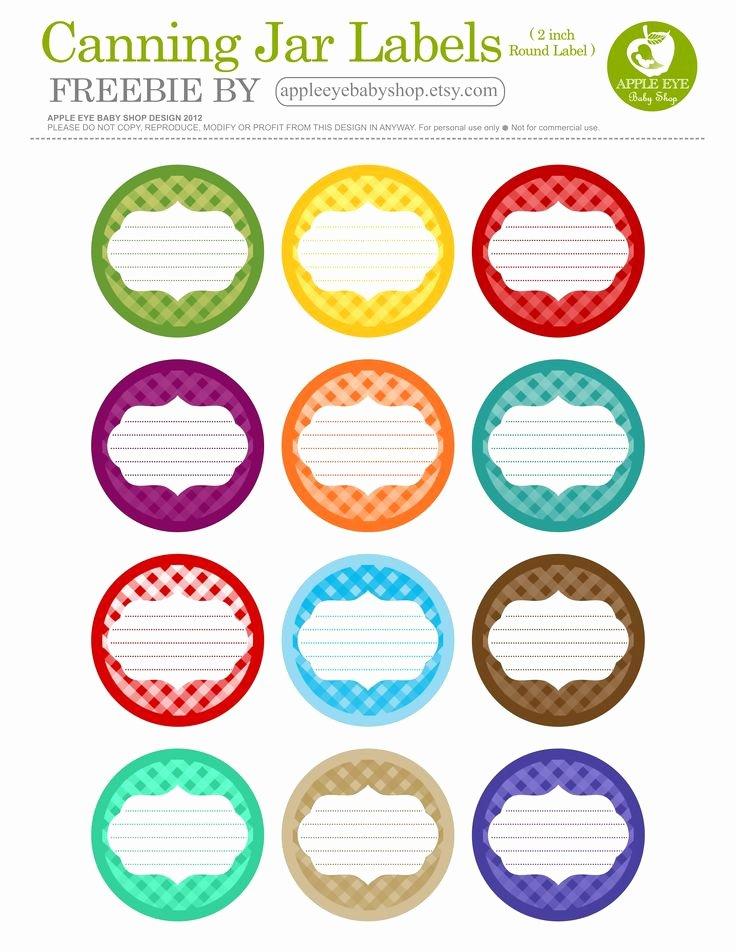 Mason Jar Tags Template Elegant Free Printable 12 Canning Jar Labels Freebie by Apple