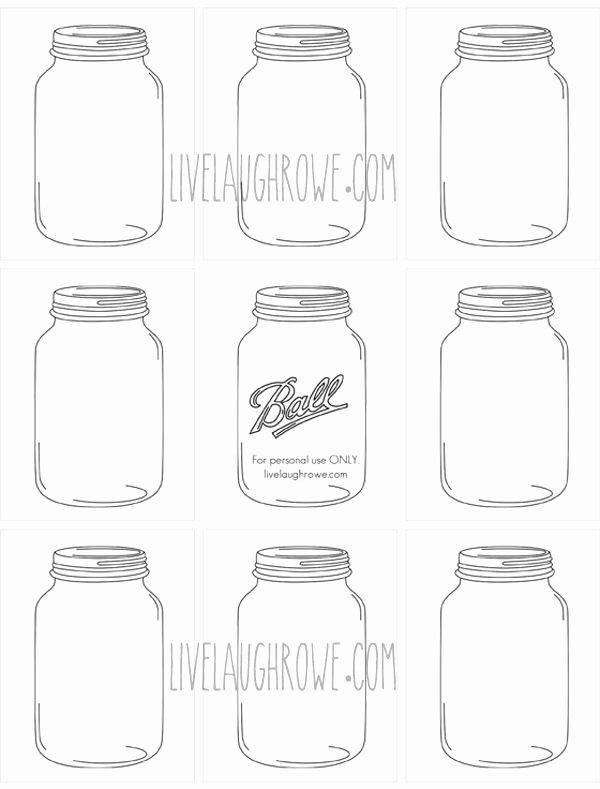 Mason Jar Tags Template Elegant Microsoft Word Jars for Craftingcx