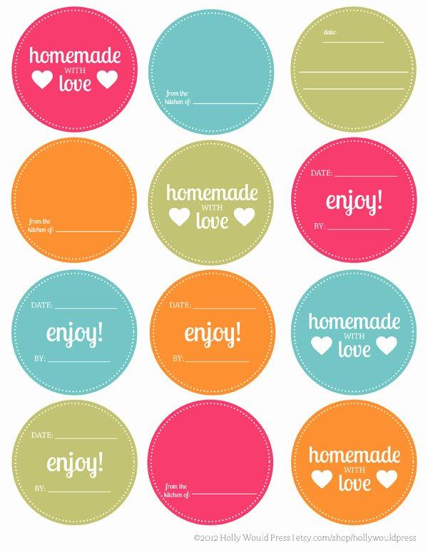 Mason Jar Tags Template Lovely 56 Cute Mason Jar Labels