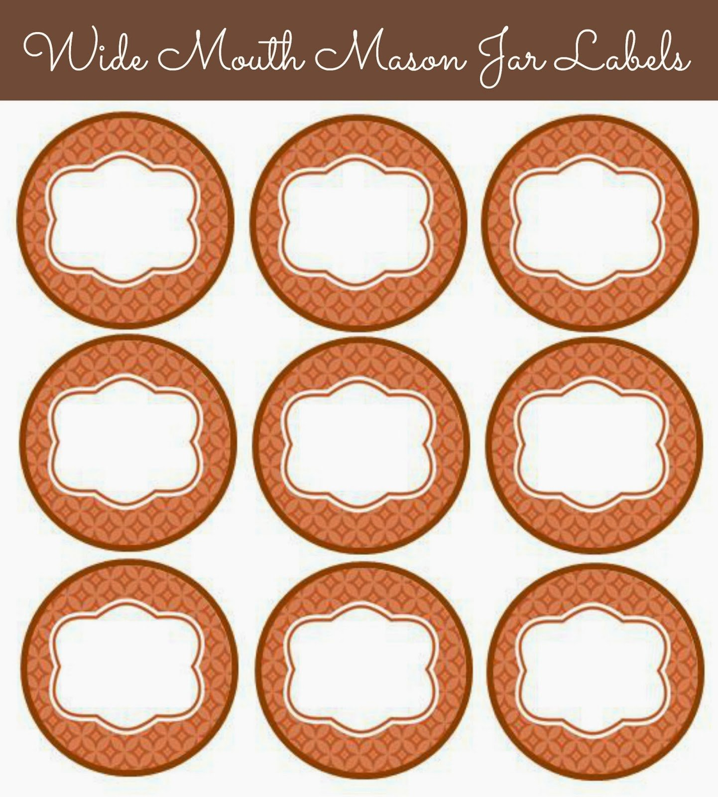 Mason Jar Tags Template Unique 56 Cute Mason Jar Labels