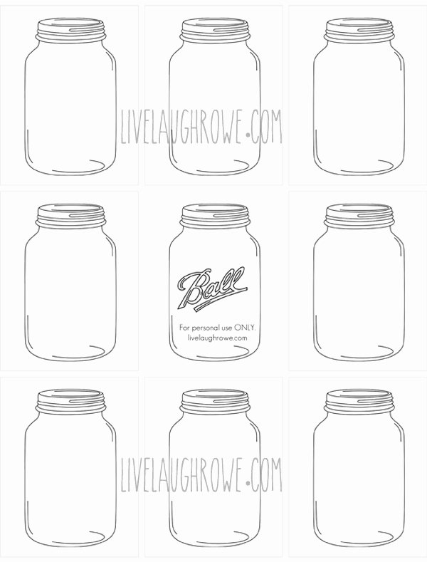Mason Jar Template Printable Awesome Index Of Cdn 11 1990 980