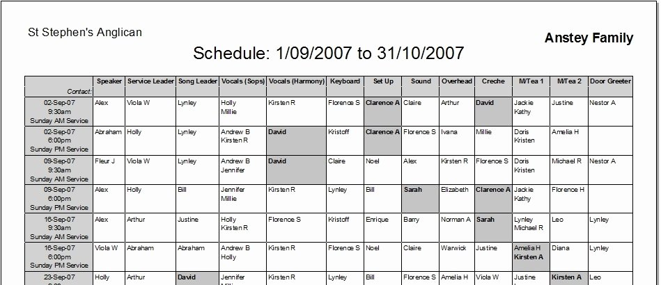 Master Schedule Template Awesome Weekly Master Schedule Templates Driverlayer Search Engine