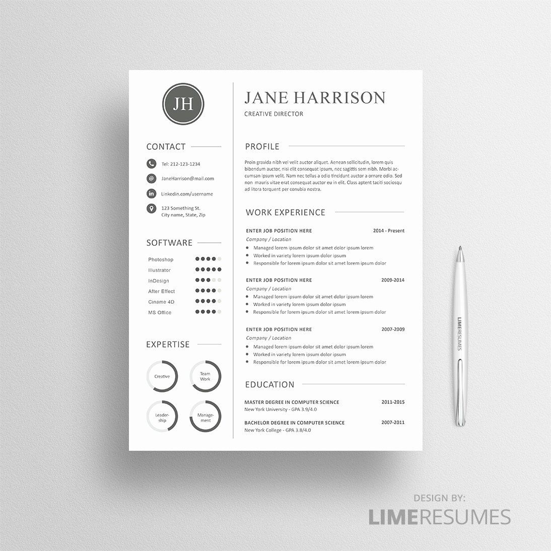 Matching Test Template Microsoft Word Beautiful Professional Cv Template Matching Cover Letter