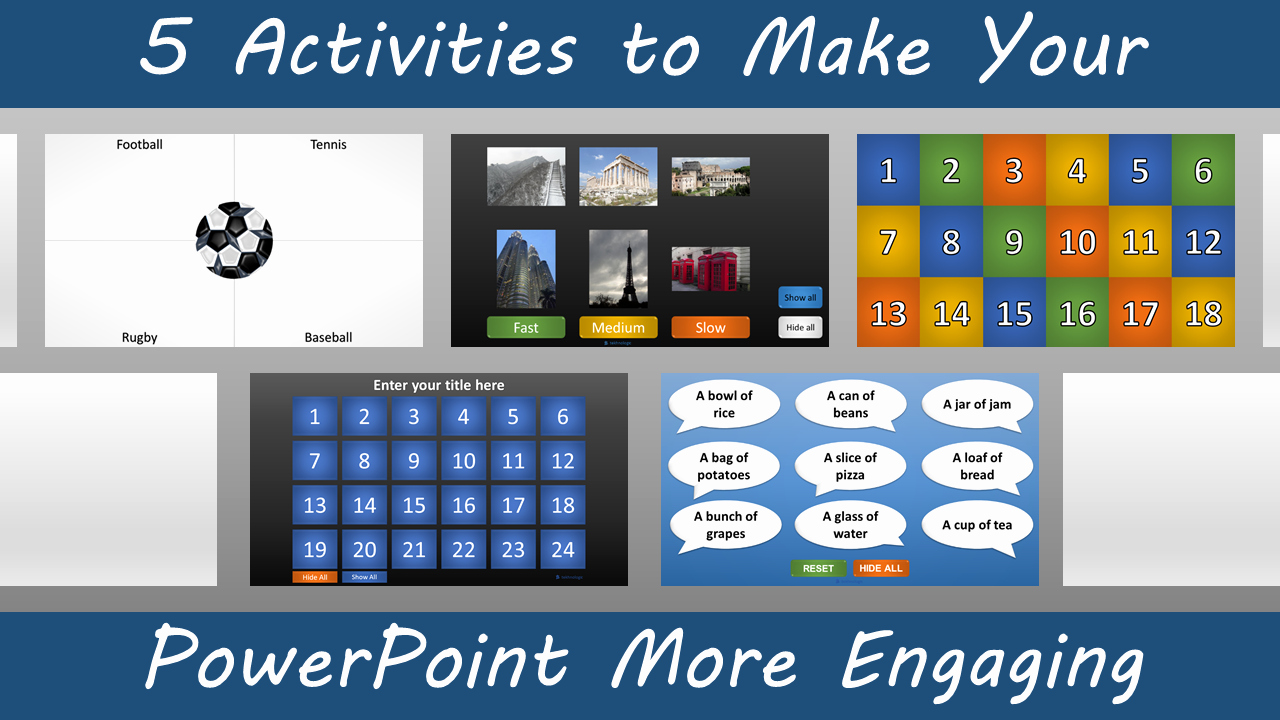 Matching Test Template Microsoft Word Elegant 5 Activities to Make Your Powerpoint More Engaging