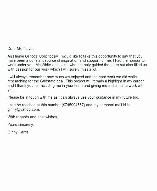 Maternity Leave Letter to Clients Fresh Leave Letter