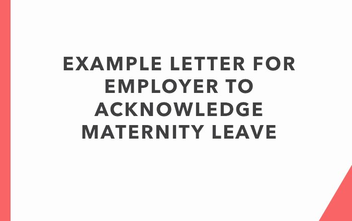 Maternity Leave Letter to Clients Luxury Letter for Employer to Acknowledge Maternity Leave Nhf