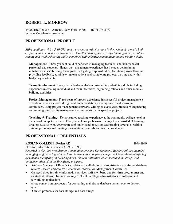 Mba Admission Essay Samples Pdf Inspirational Mba Candidate Resume O Mba