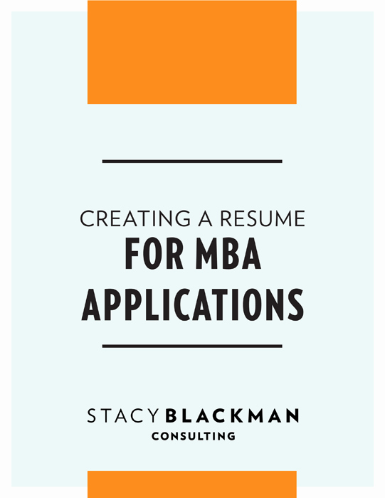Mba Admission Essay Samples Pdf Inspirational Mba Résumé Guide Mba Admissions