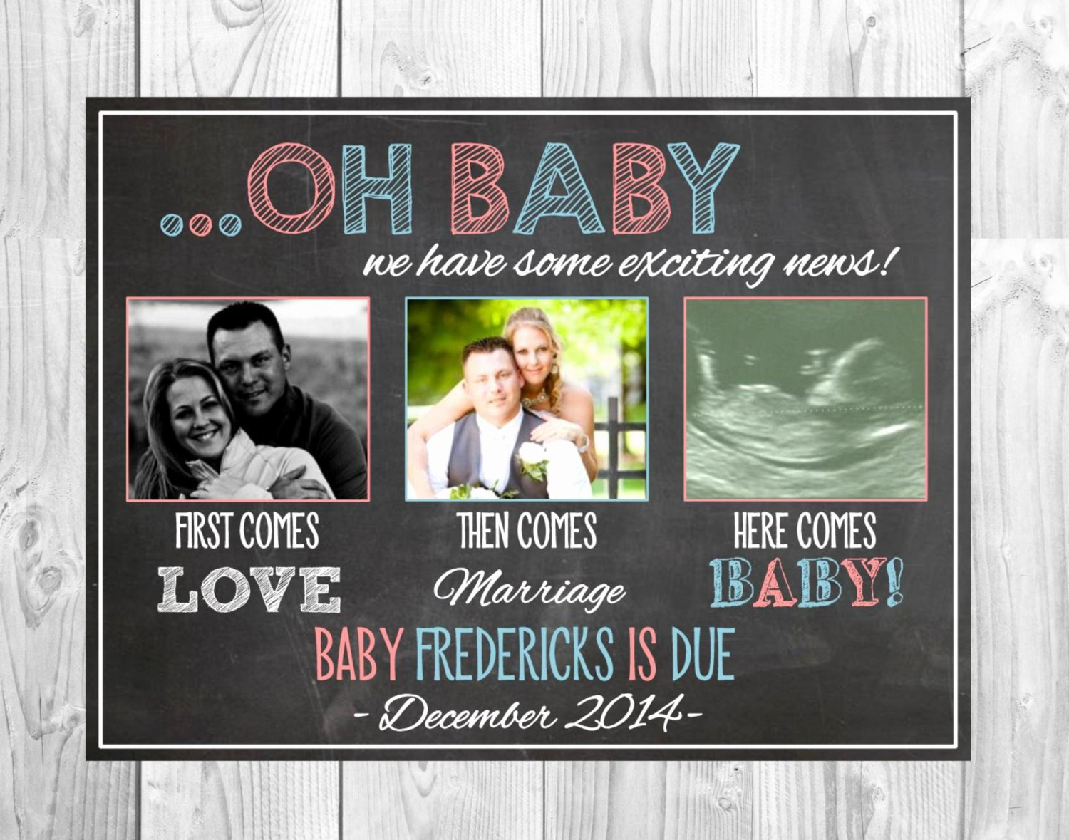 Media Announcement Template Fresh social Media Pregnancy Announcement First Es Love then