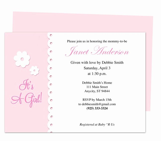 Media Announcement Template Inspirational 42 Best Baby Shower Invitation Templates Images On Pinterest