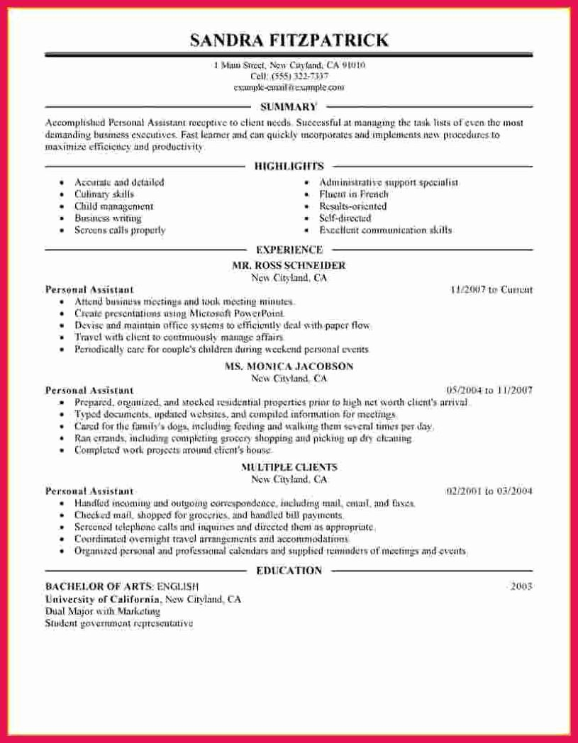 Medical assistant Externship Resume Best Of Personal Care assistant Resume