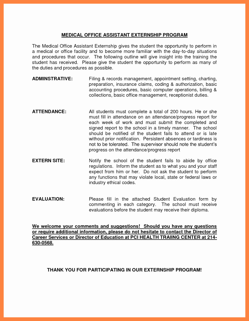 Medical assistant Externship Resume Fresh 7 Medical assistant Externship Resume