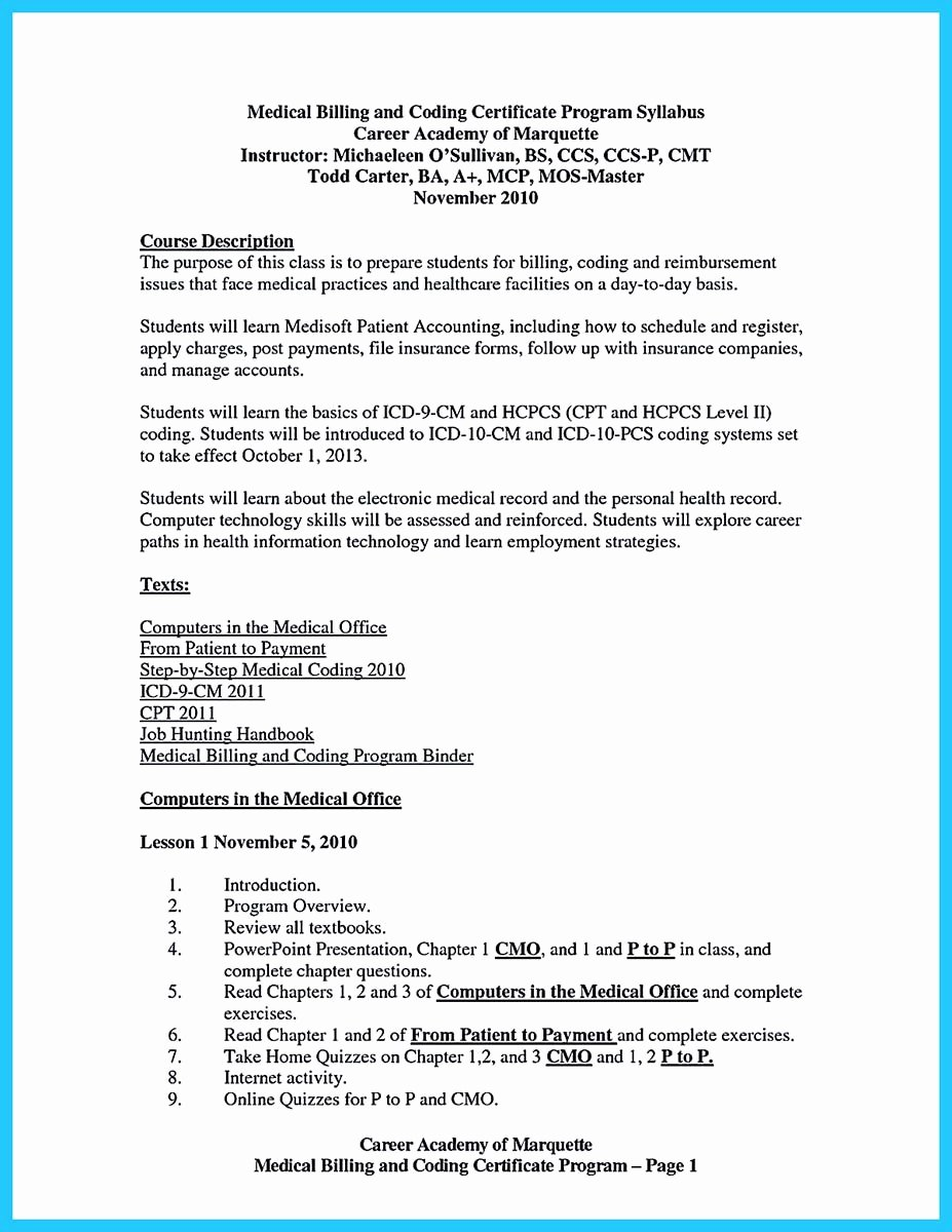 Medical Biller Resume Examples Fresh Exciting Billing Specialist Resume that Brings the Job to You