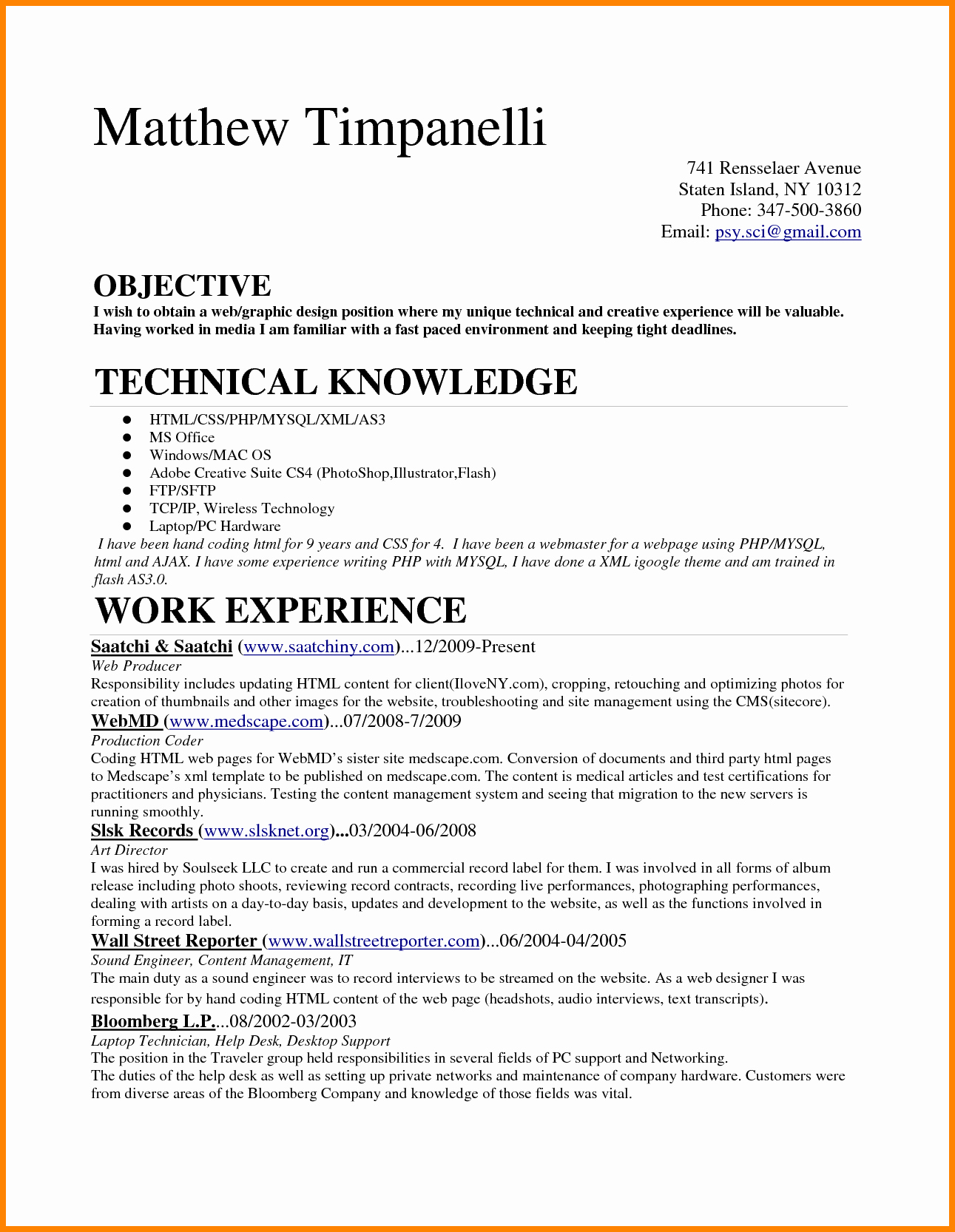 Medical Biller Resume Examples Unique 6 Entry Level Medical Billing Resume
