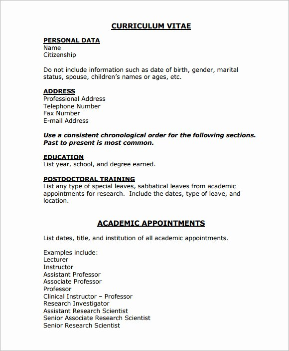 Medical Cv Template Word Awesome 8 Medical Cv Templates Download for Free
