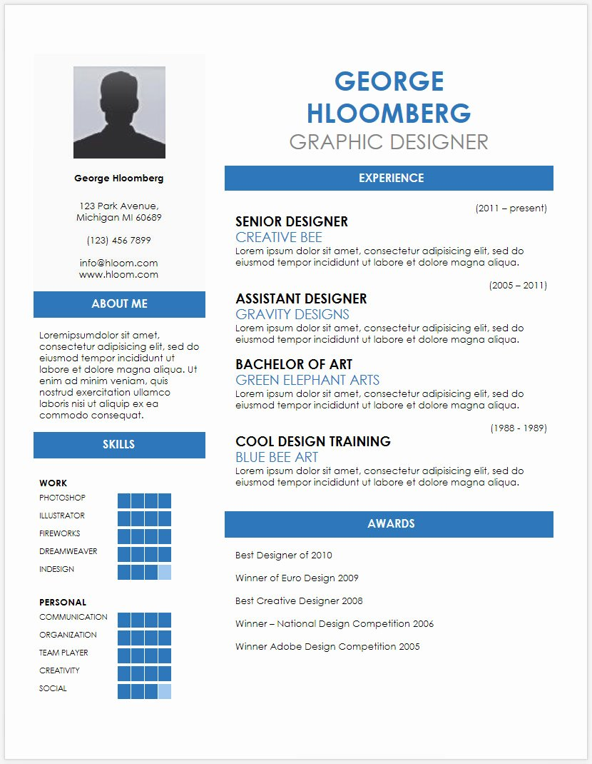 Medical Cv Template Word Best Of 12 Free Minimalist Professional Microsoft Docx and Google