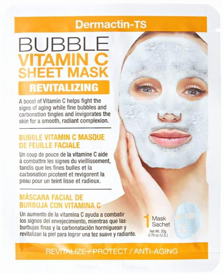 Medical Face Sheet Best Of Dermactin Ts Bubble Vitamin C Sheet Mask