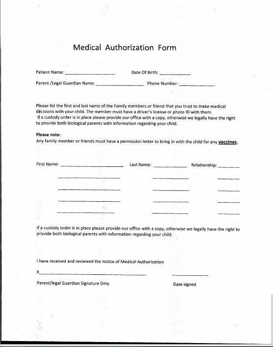 Medical Face Sheet Template Awesome Patient forms