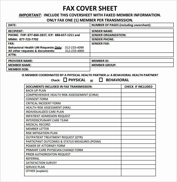 Medical Face Sheet Template Inspirational Sample Confidential Fax Cover Sheet 12 Documents In Pdf