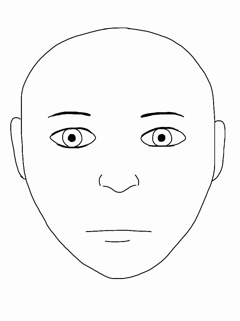 Medical Face Sheet Template Unique File Blank Face Wikimedia Mons