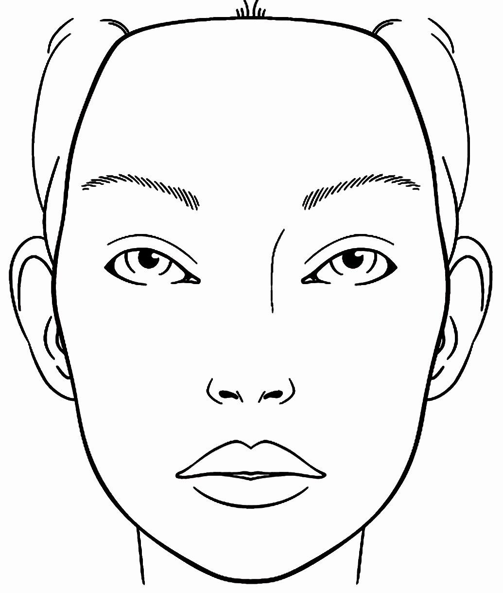 Medical Face Sheet Unique Makeup Face Coloring Pages Printable