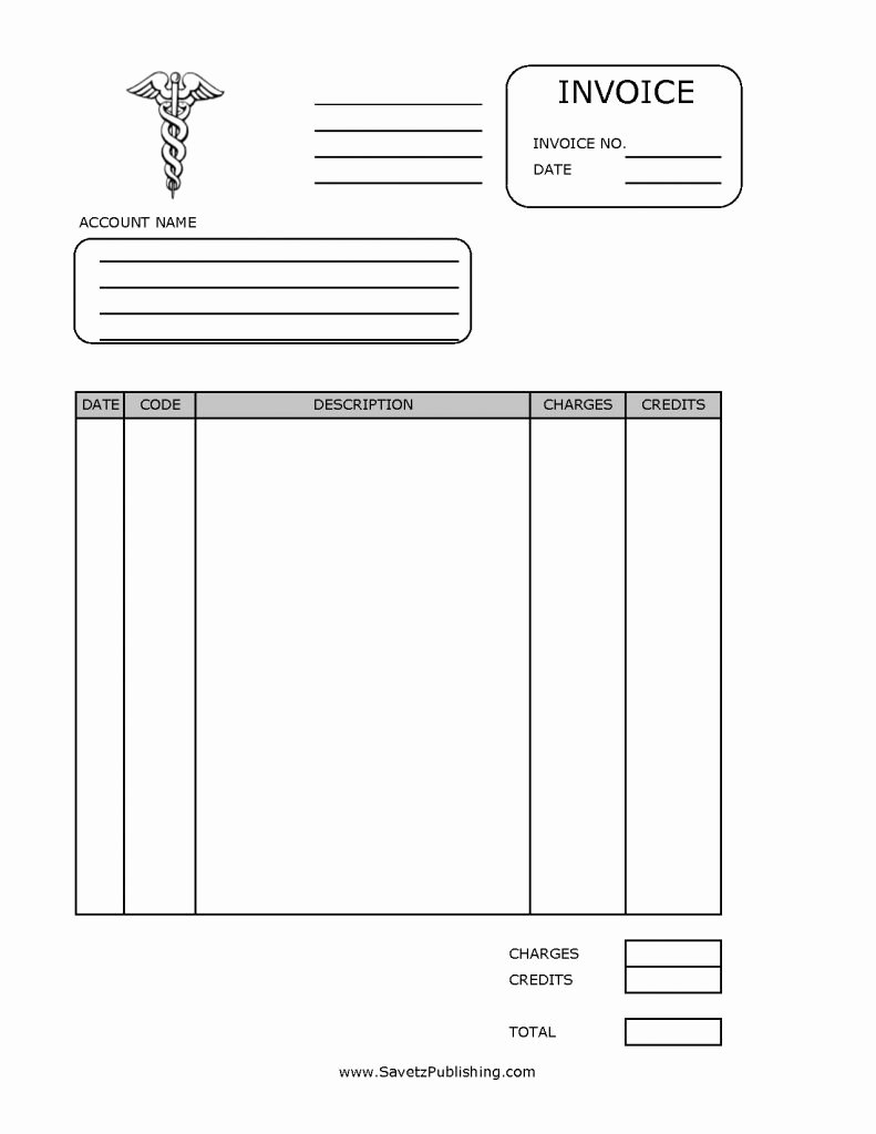 Medical Receipt Template Awesome Medical Invoice Template Free Receipt Word Bill Excel