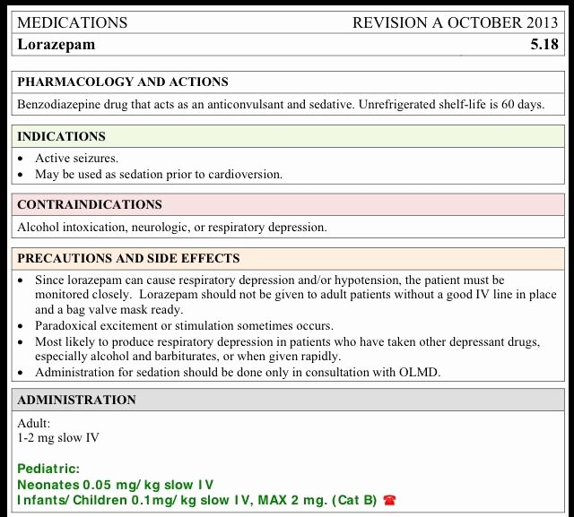 Medication Card Template Unique Lorazepam ativan Card Nursing Pinterest