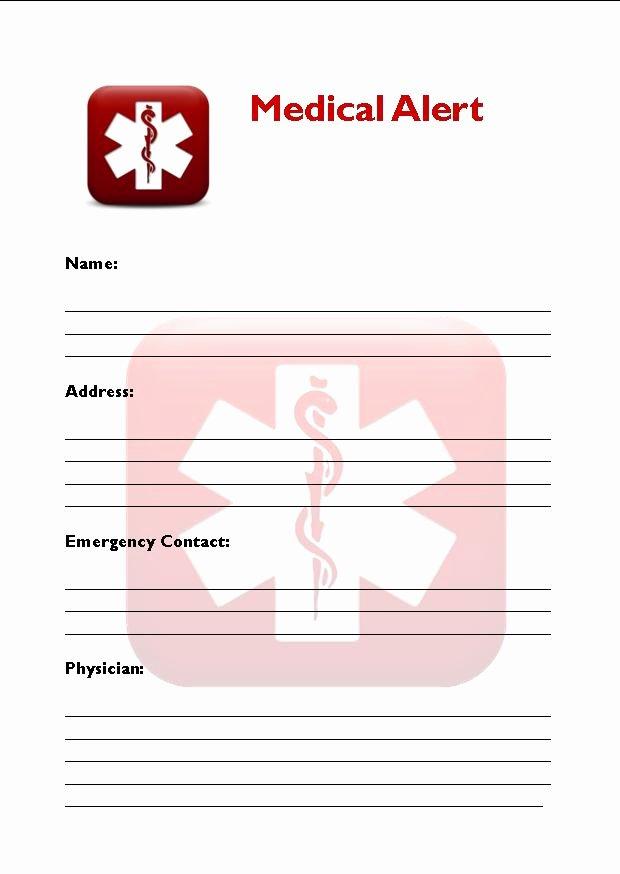 Medication Wallet Card Template Elegant 8 Best Of Free Printable Medical Cards Free