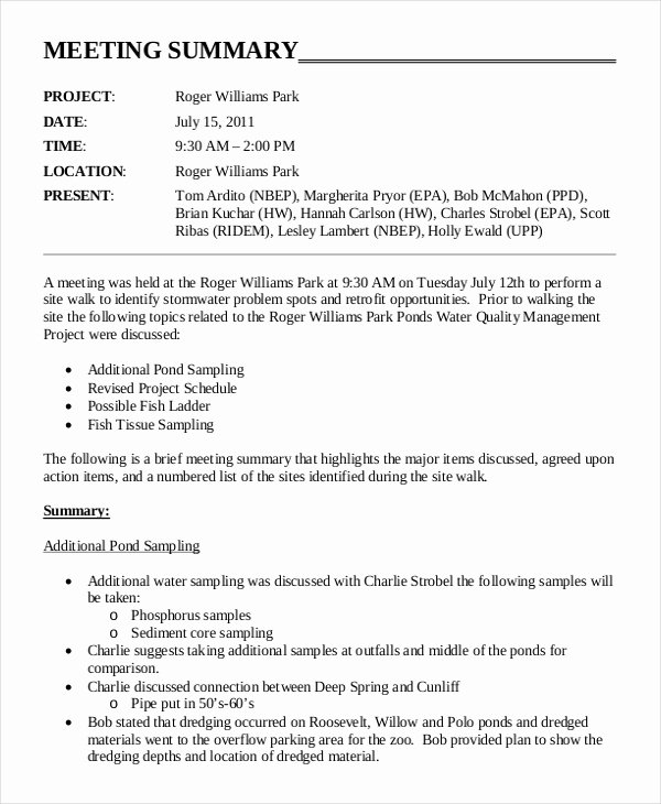 Meeting Brief Template Beautiful Minutes Writing Template – 10 Free Word Pdf Documents