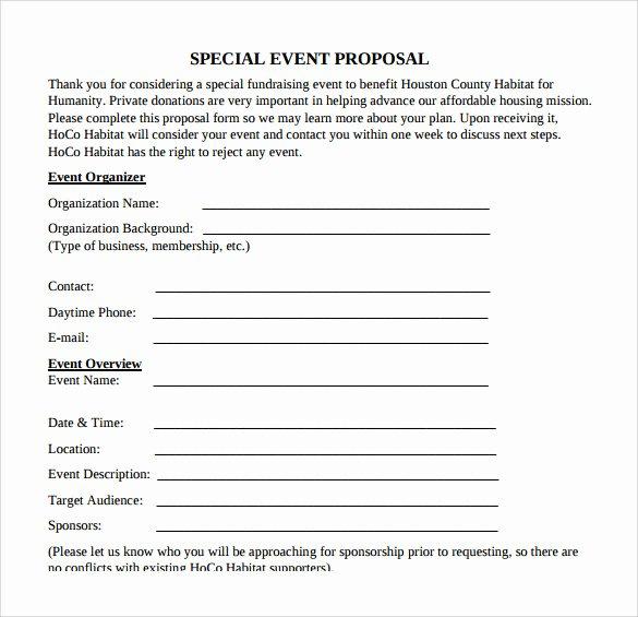 Meeting Rfp Template Beautiful 25 Sample event Proposal Templates – Psd Pdf Word