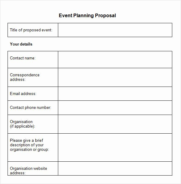 Meeting Rfp Template Fresh Sample event Proposal Template 15 Free Documents In Pdf