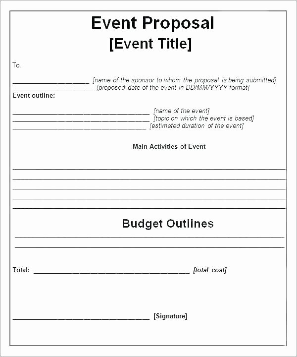 Meeting Rfp Template Luxury Programme Samples for events