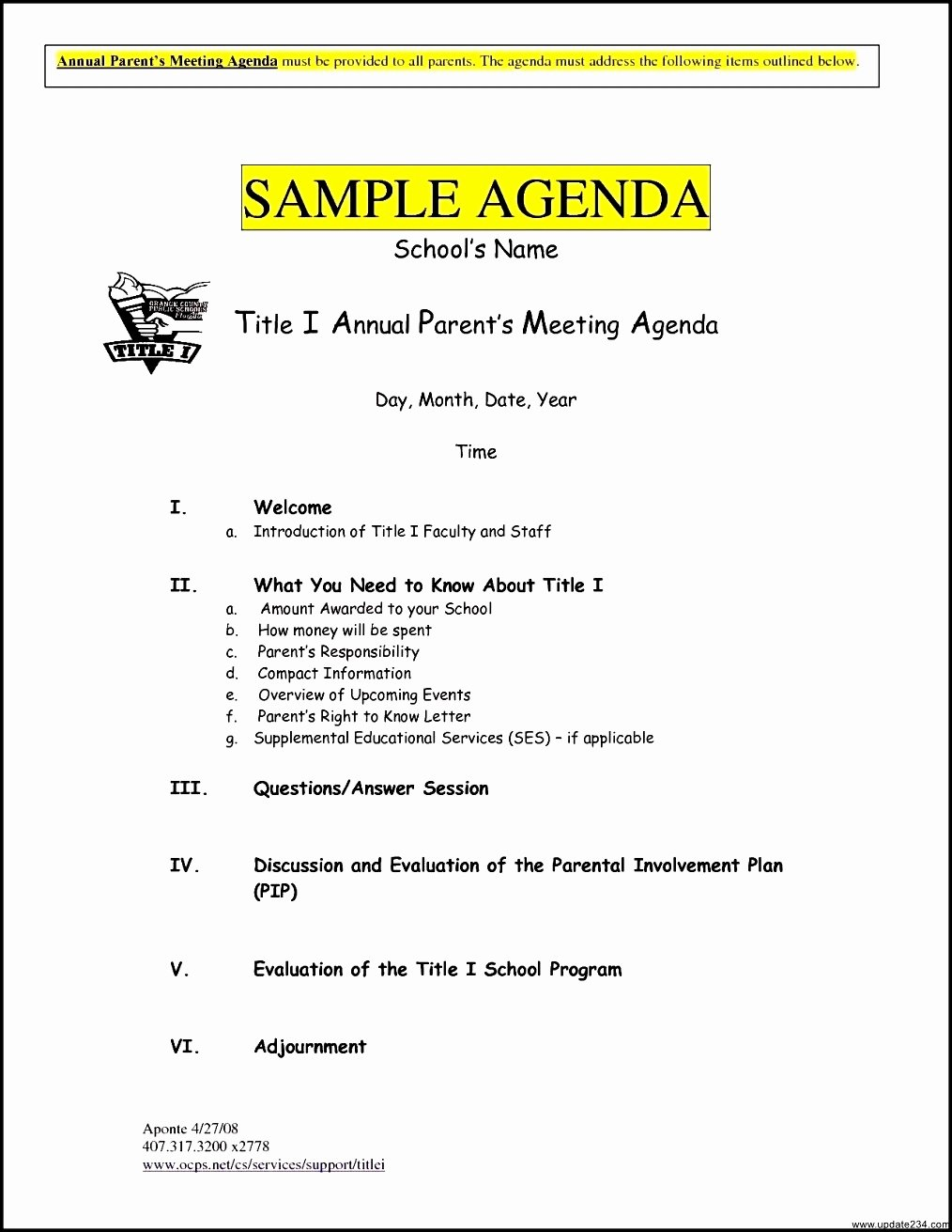 Meeting Rfp Template New Agenda for Meeting Example Mughals